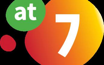 """Logo """"AT 7 samen werkt"""""""